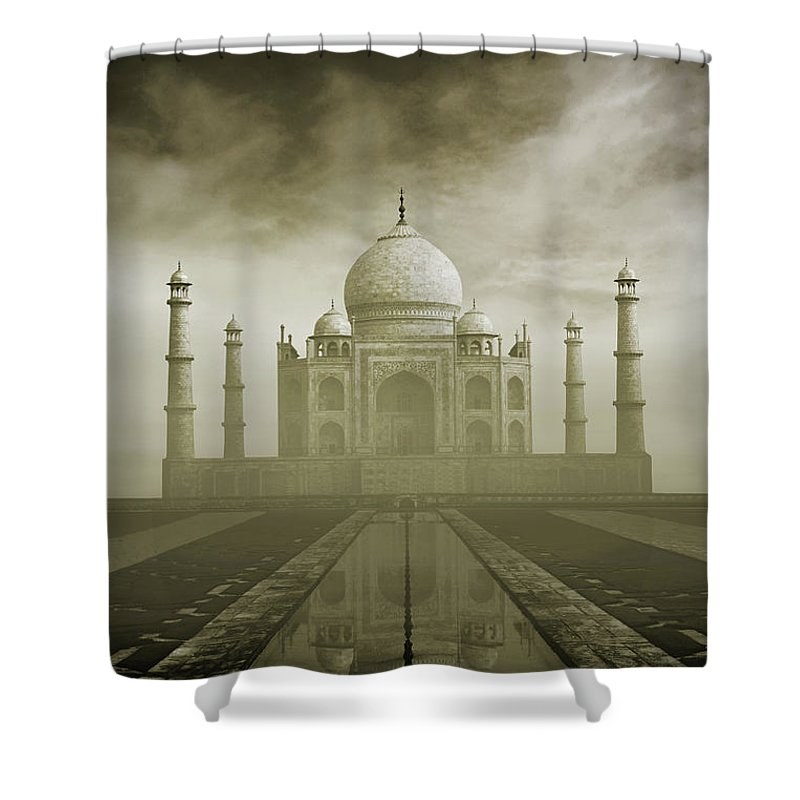 Tranquility Shower Curtain featuring the photograph The Symbol Of Love by Photo By Sayid Budhi