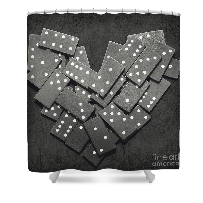 Puzzle Shower Curtain featuring the photograph To Fall by Jorgo Photography - Wall Art Gallery