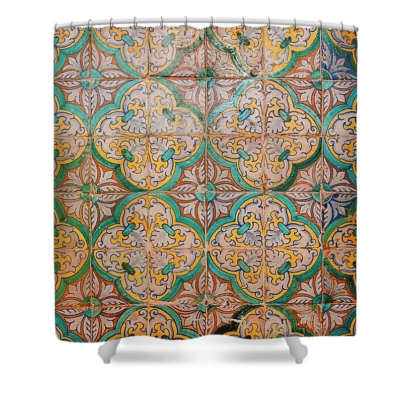 Catalonia Shower Curtain featuring the photograph Traditional Hand Made And Decorated by Tracy Packer Photography
