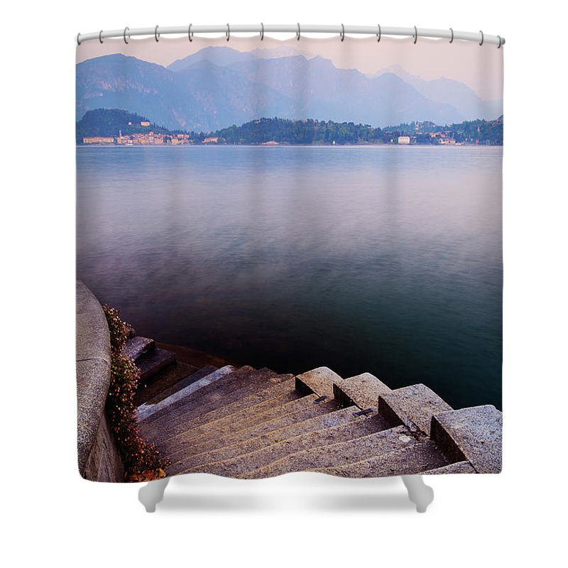 Tranquility Shower Curtain featuring the photograph Tranquil by John And Tina Reid