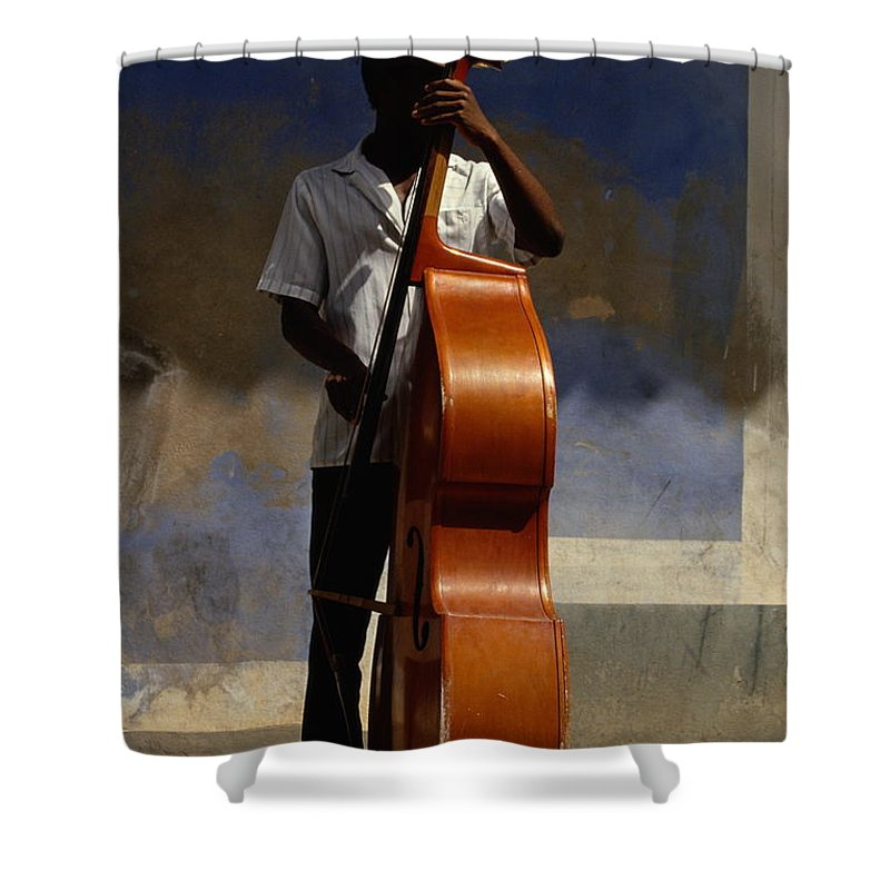 Straw Hat Shower Curtain featuring the photograph Trinidad In Cuba by Buena Vista Images