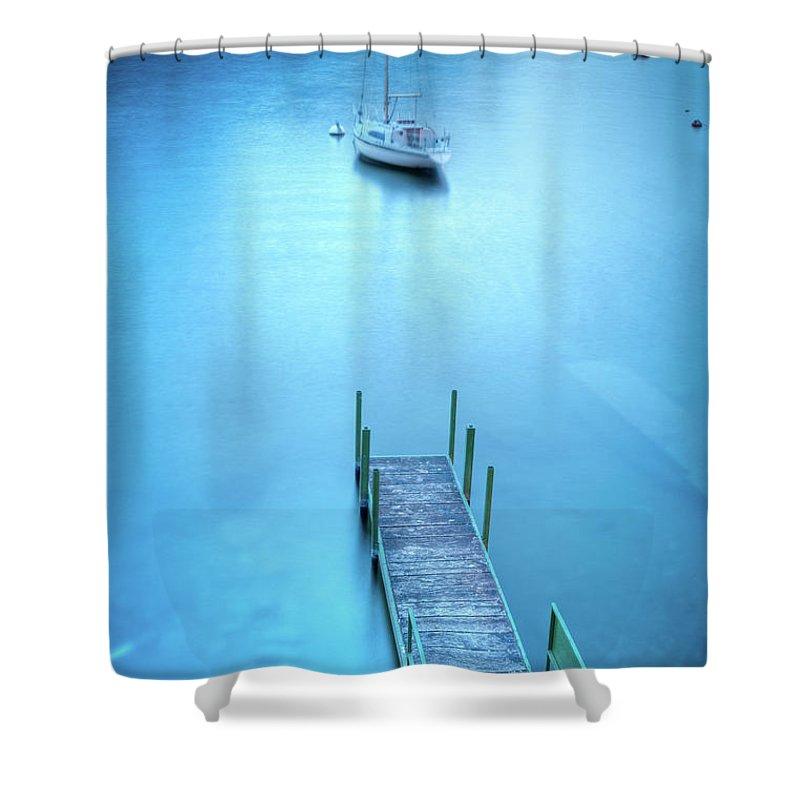 Scenics Shower Curtain featuring the photograph Varenna, Lago Di Como by Mmac72