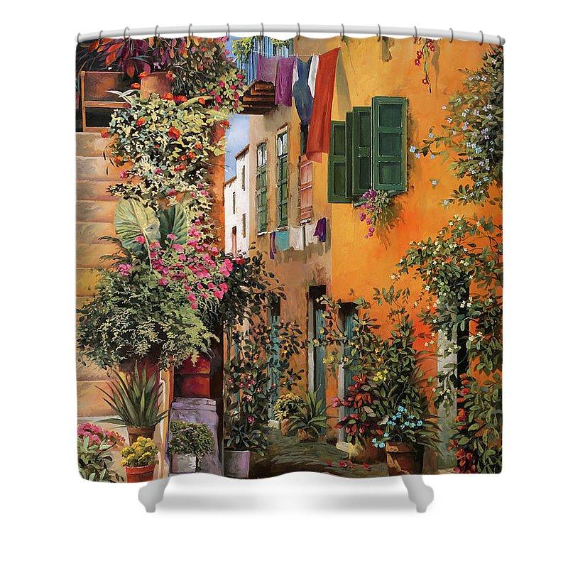 Crete Shower Curtains