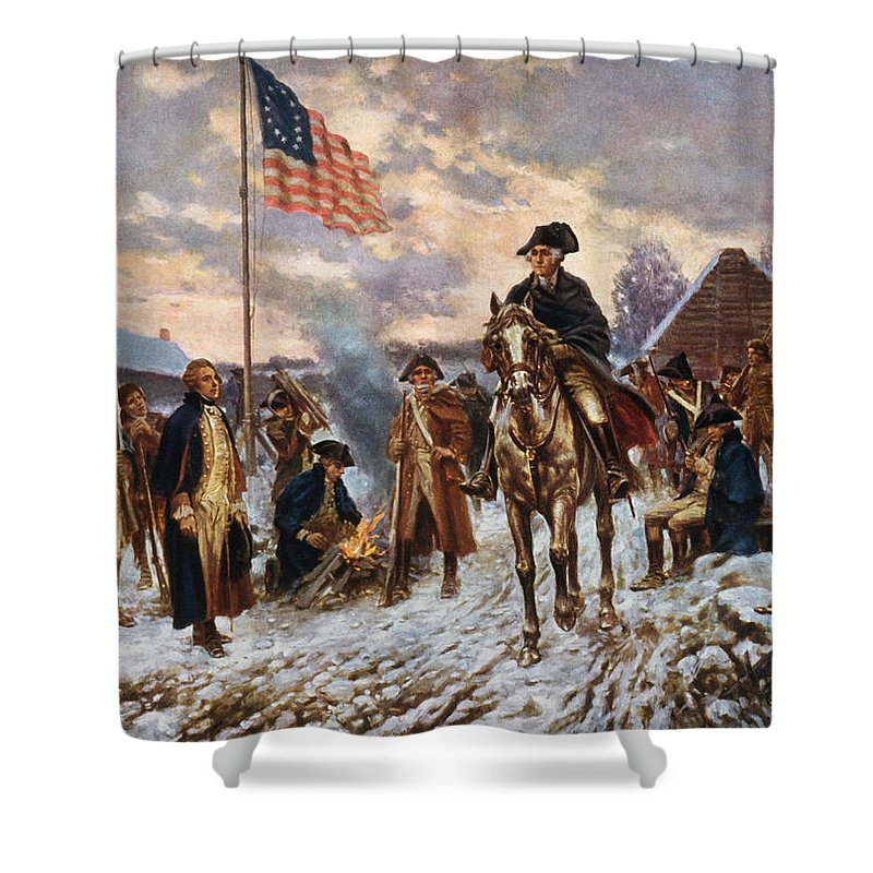Revolutionary War Shower Curtains