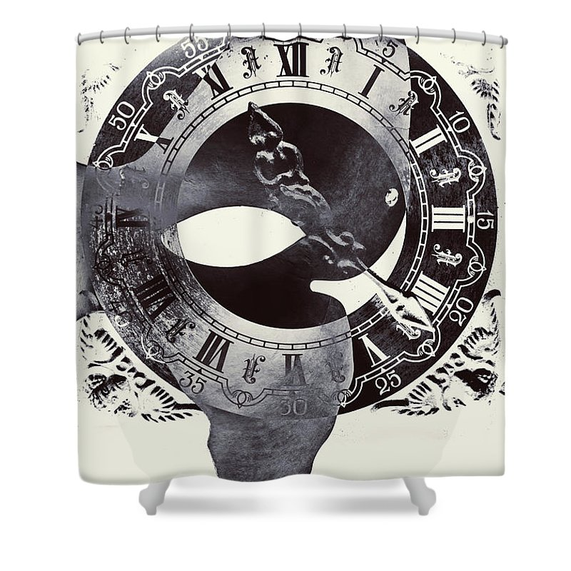 Mandala Photographs Shower Curtains