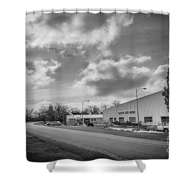 White Bear Island Marine Shower Curtain featuring the photograph White Bear Island Marine by John Lee