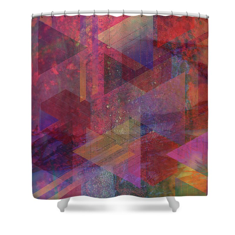 Another Place Shower Curtain featuring the digital art Another Place by John Robert Beck