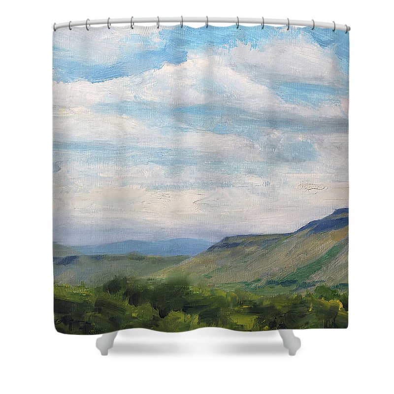 Table Mountain Shower Curtains