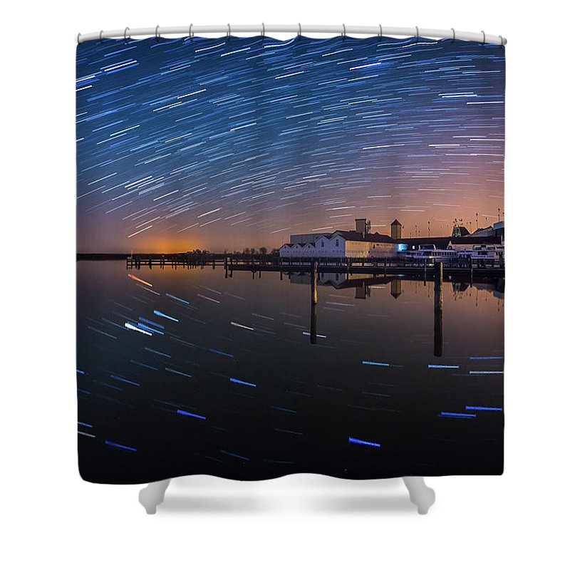 Austria Shower Curtain featuring the photograph Beyond Us by Jerzy Bin
