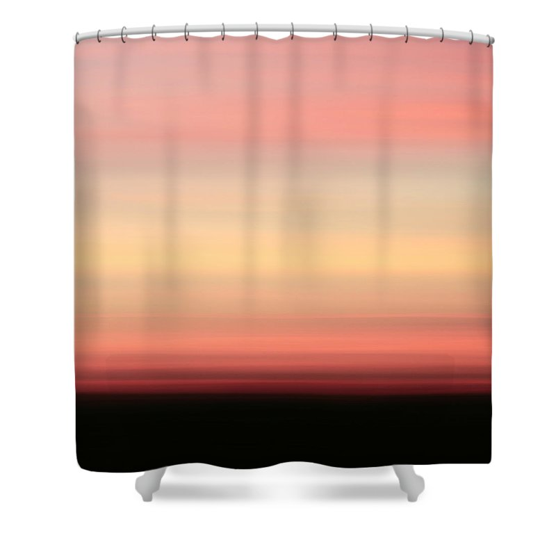 Abstract Shower Curtain featuring the photograph Blush by Laura Fasulo