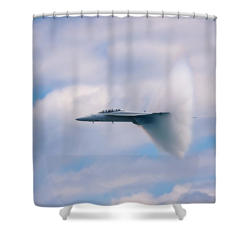 3scape Photos Shower Curtain featuring the photograph Breaking Through by Adam Romanowicz