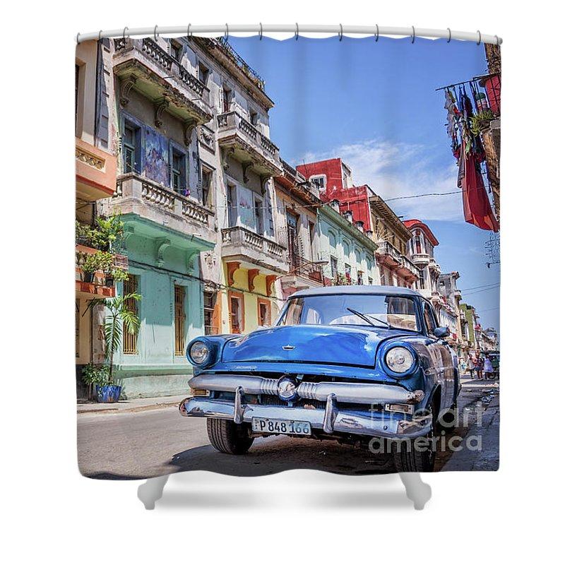 Havana Cuba Shower Curtains