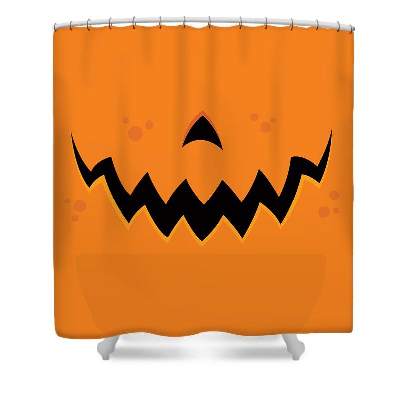 Pumpkin Shower Curtains