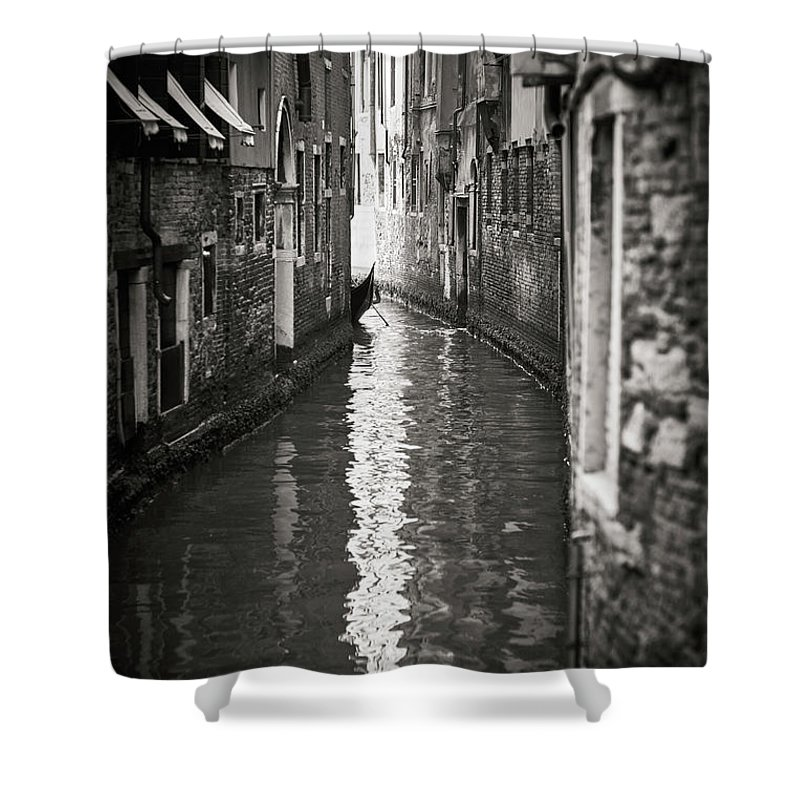 Fine Art Shower Curtain featuring the photograph Dsc01152 - Venice, Italy by Marco Missiaja