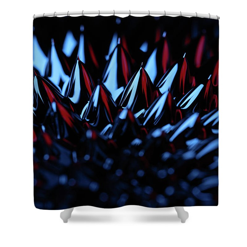 Magnetic Force Shower Curtains