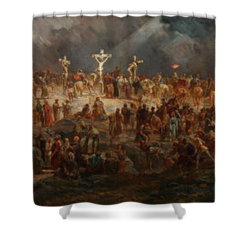 Crown Of Thorns Shower Curtains