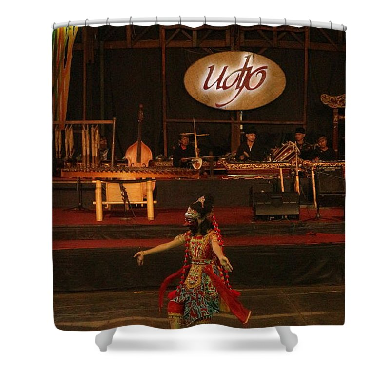 Indonesia Shower Curtains