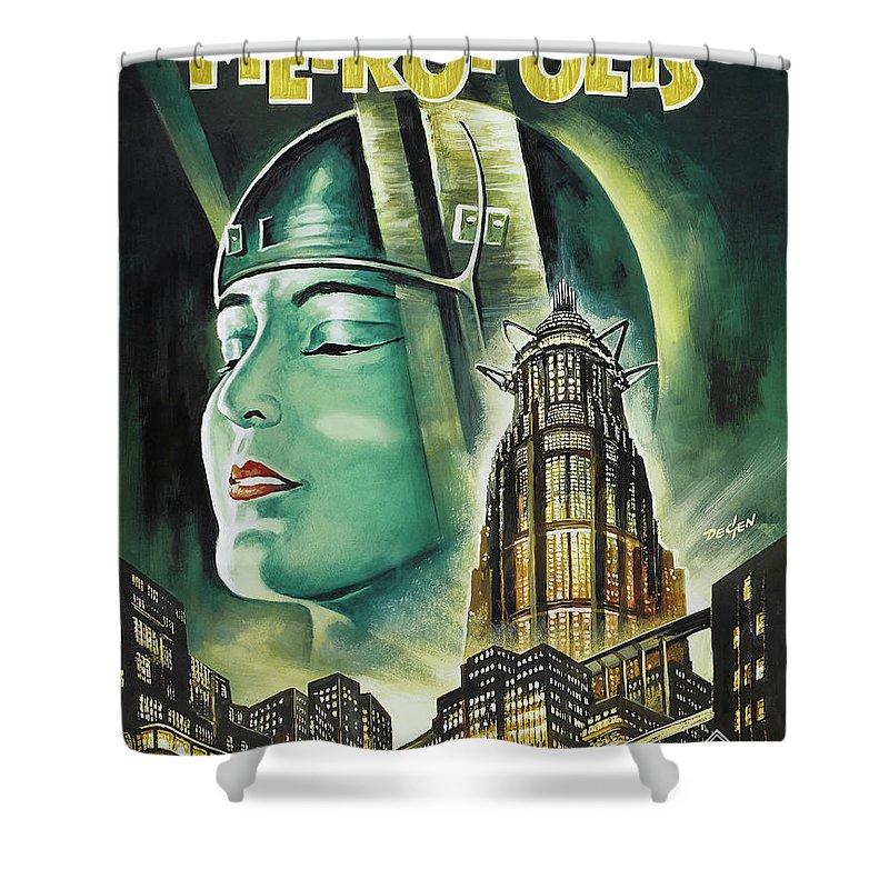 Metropolis Shower Curtains