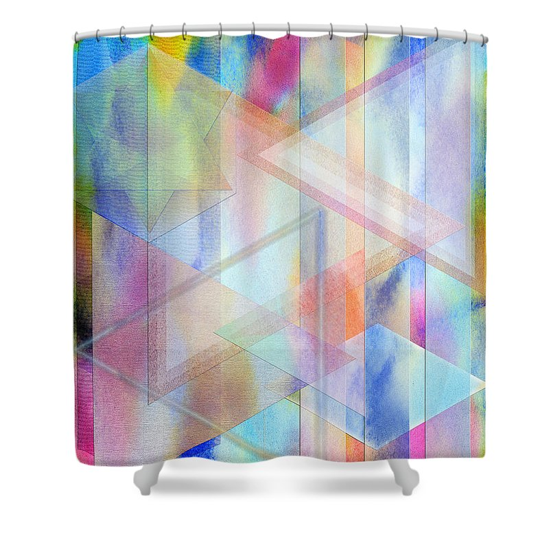 Pastoral Moment Shower Curtain featuring the digital art Pastoral Moment by John Robert Beck