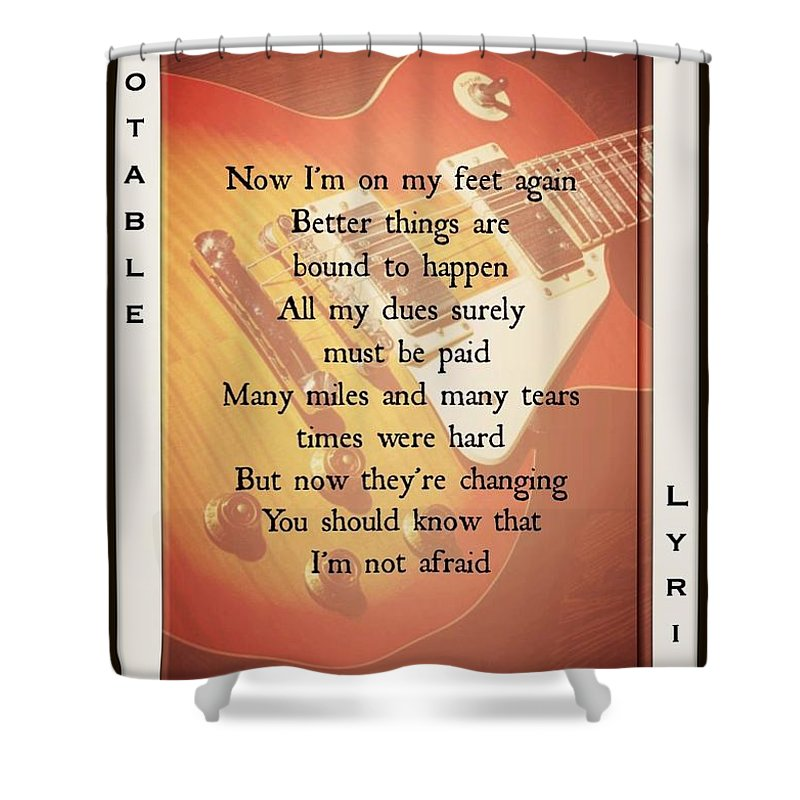 Bad Company Shower Curtain featuring the photograph Ready For Love 2 by David Norman