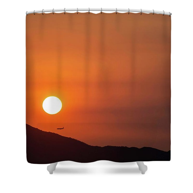 Mountain Landscape Shower Curtains