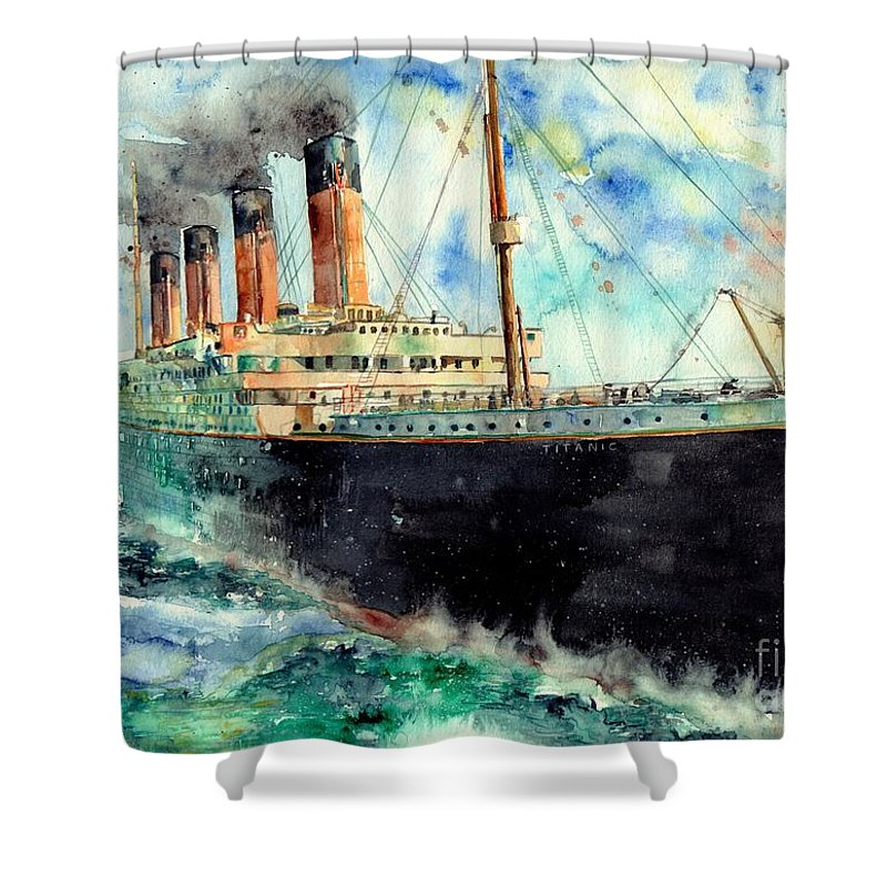 Maritime Shower Curtains