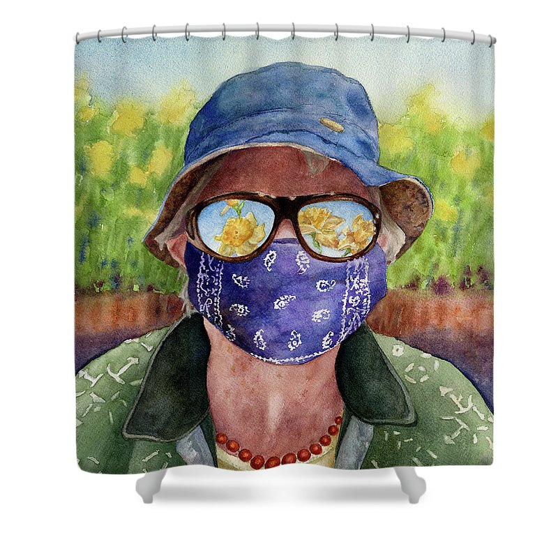 Pandemic Shower Curtains