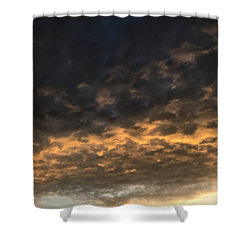 Cloud Shower Curtains