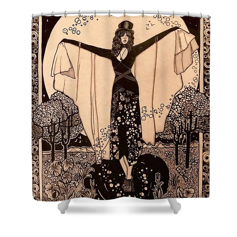 Wiccan Shower Curtains