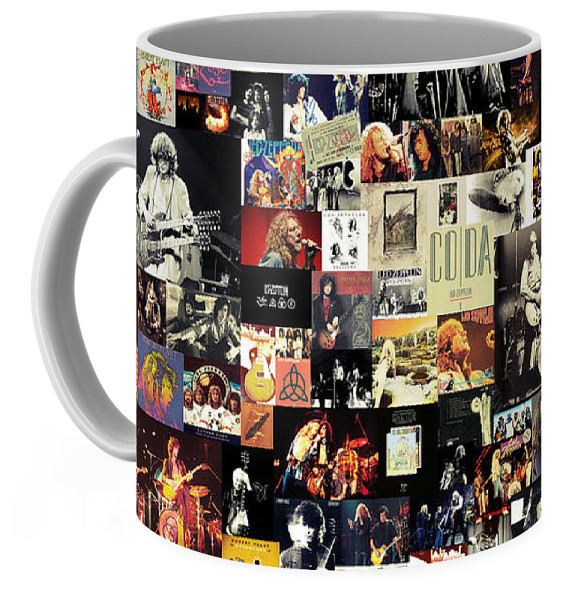 Led Zeppelin Collage Coffee Mug for Sale by Zapista