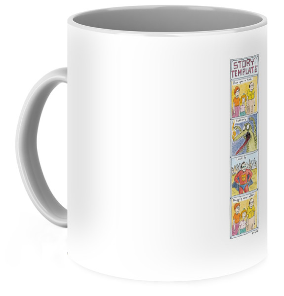 Story Template Coffee Mug for Sale by Roz Chast