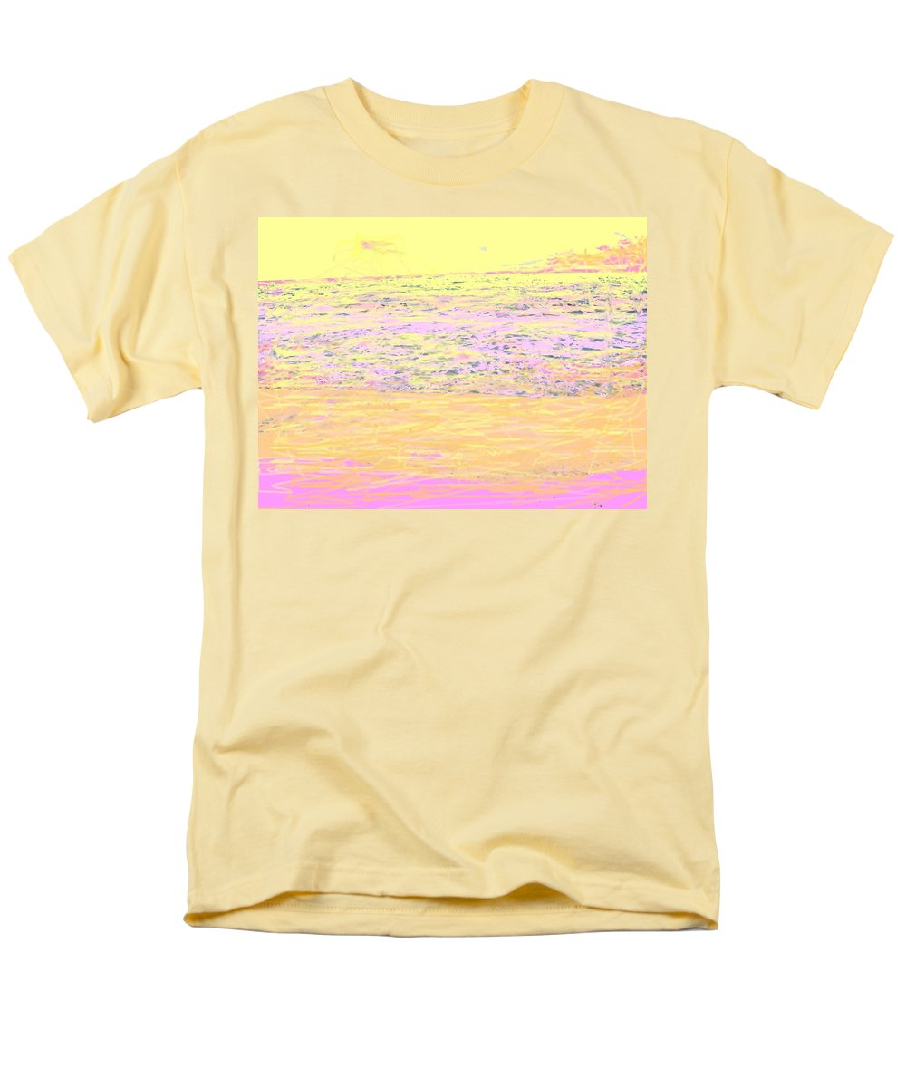 Seascape Men's T-Shirt (Regular Fit) featuring the photograph Pineapple Sunset by Ian MacDonald