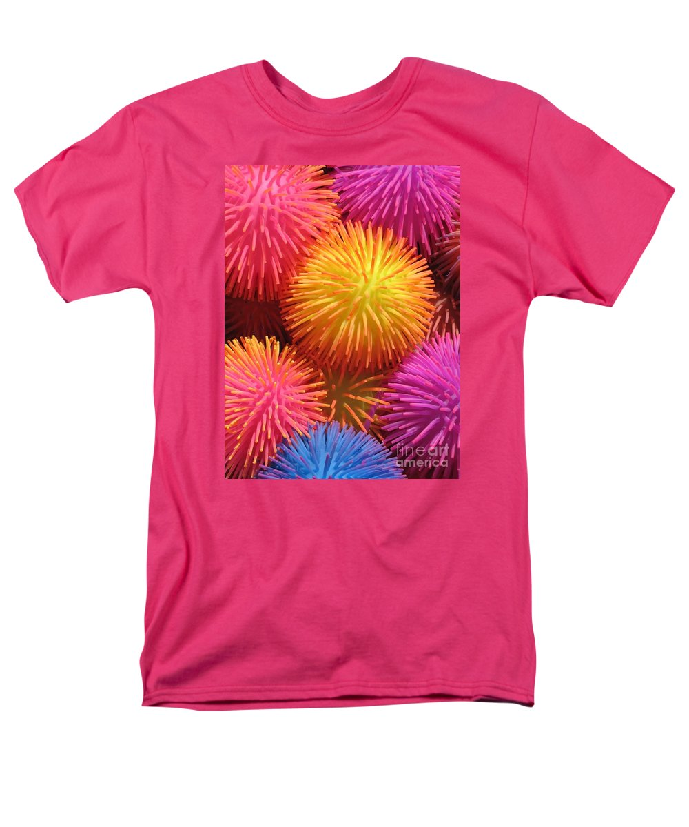 Abstract Men's T-Shirt (Regular Fit) featuring the photograph Dazzlers by Ann Horn