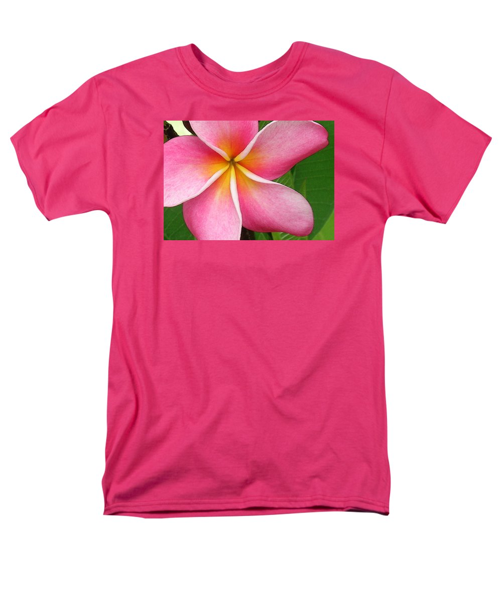 Hawaii Iphone Cases Men's T-Shirt (Regular Fit) featuring the photograph April Plumeria by James Temple