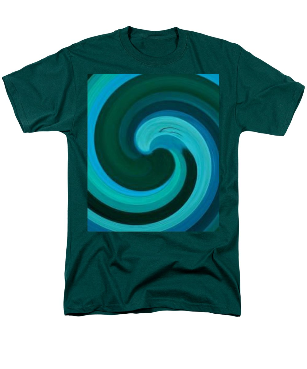 Continuious Men's T-Shirt (Regular Fit) featuring the digital art A77 by Andrew Johnson