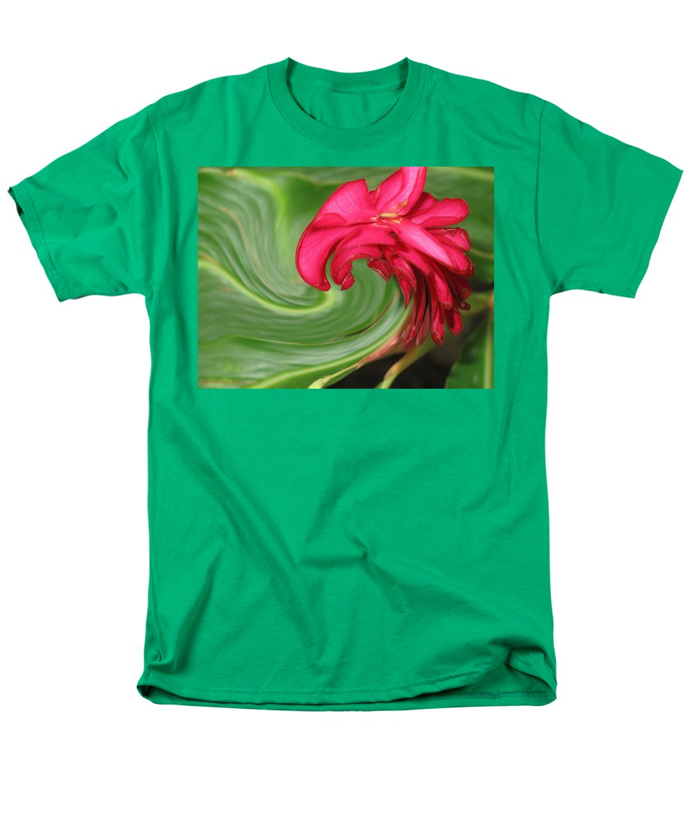 Flower Men's T-Shirt (Regular Fit) featuring the photograph Come To Me by Ian MacDonald