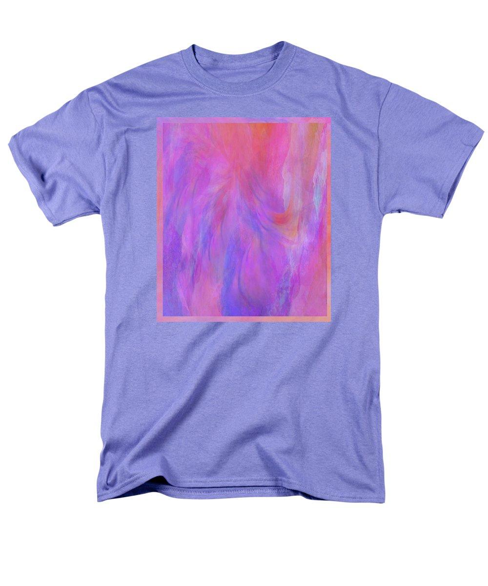 Digital Art Men's T-Shirt (Regular Fit) featuring the digital art Blossom by Linda Murphy