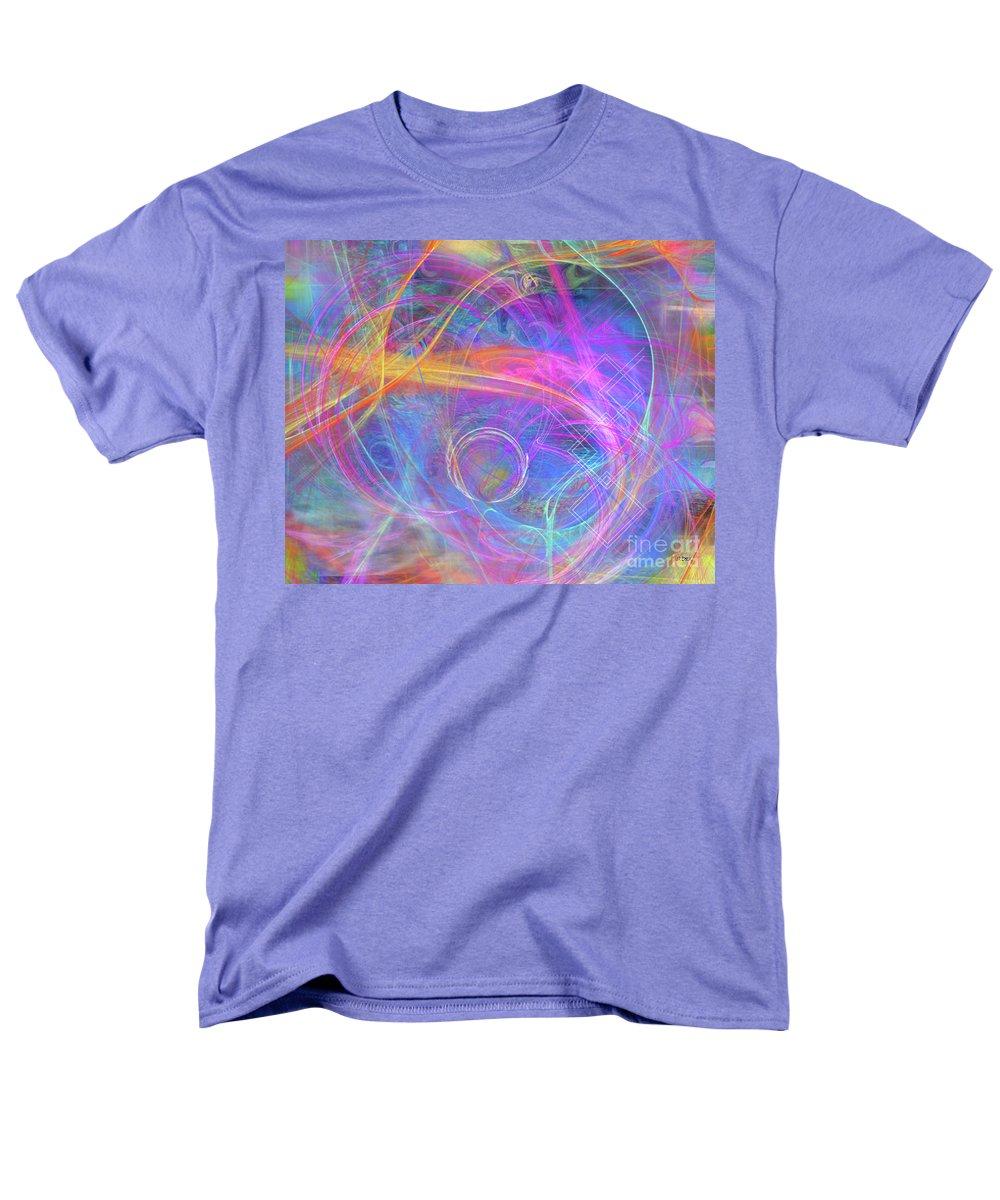 Mystic Beginning Men's T-Shirt (Regular Fit) featuring the digital art Mystic Beginning by John Beck
