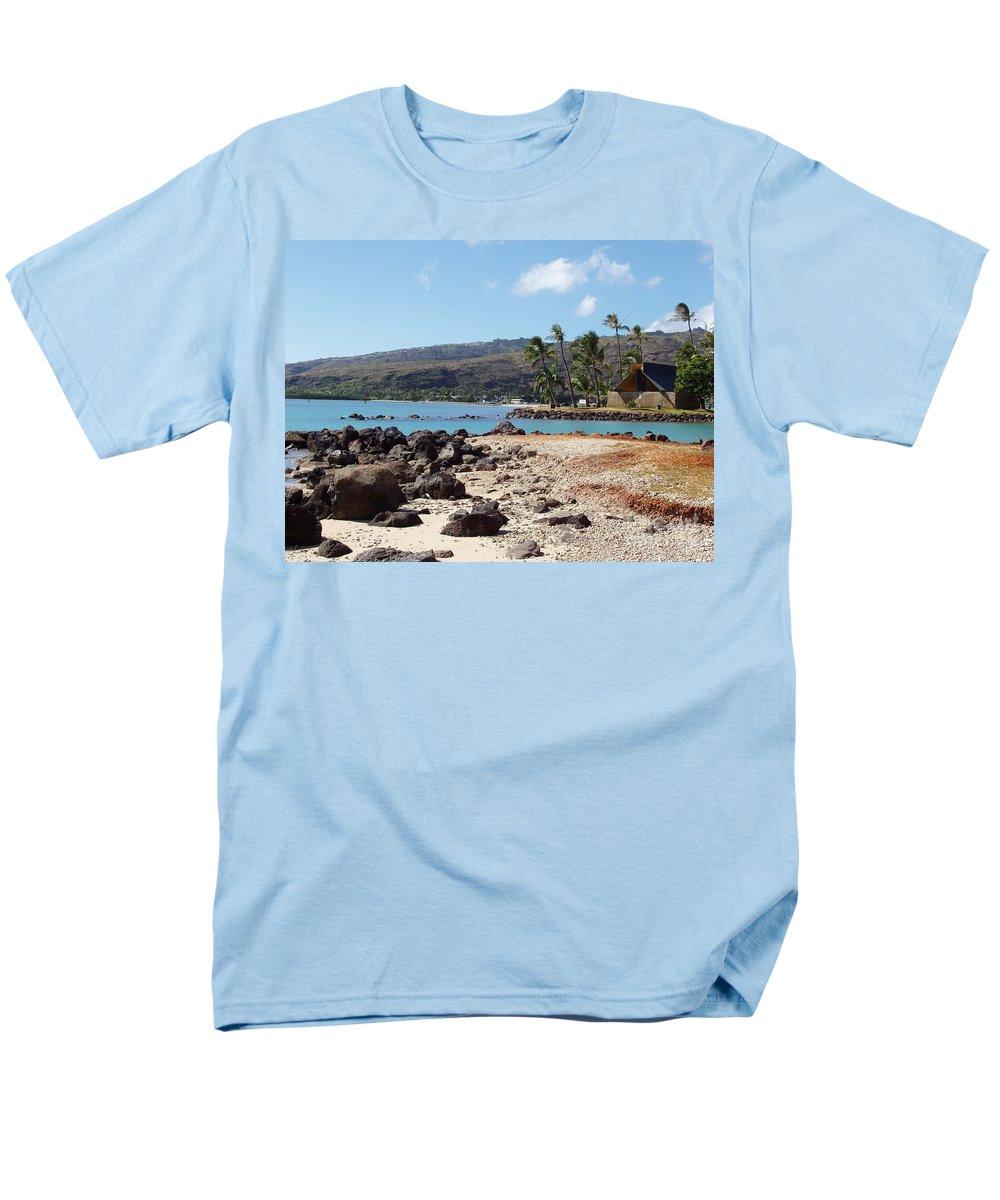 Hawaii Men's T-Shirt (Regular Fit) featuring the photograph Panorama by Deborah Crew-Johnson
