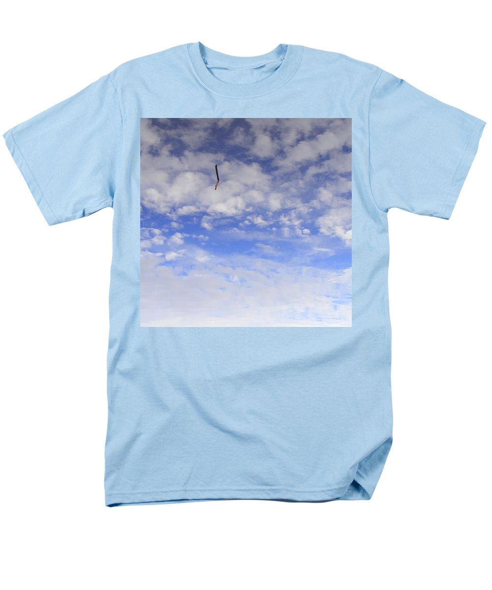 Sky Men's T-Shirt (Regular Fit) featuring the photograph Stuck In The Clouds by Edward Smith