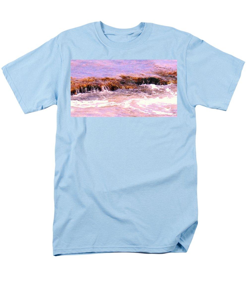 Tide Men's T-Shirt (Regular Fit) featuring the photograph Tidal Pool by Ian MacDonald