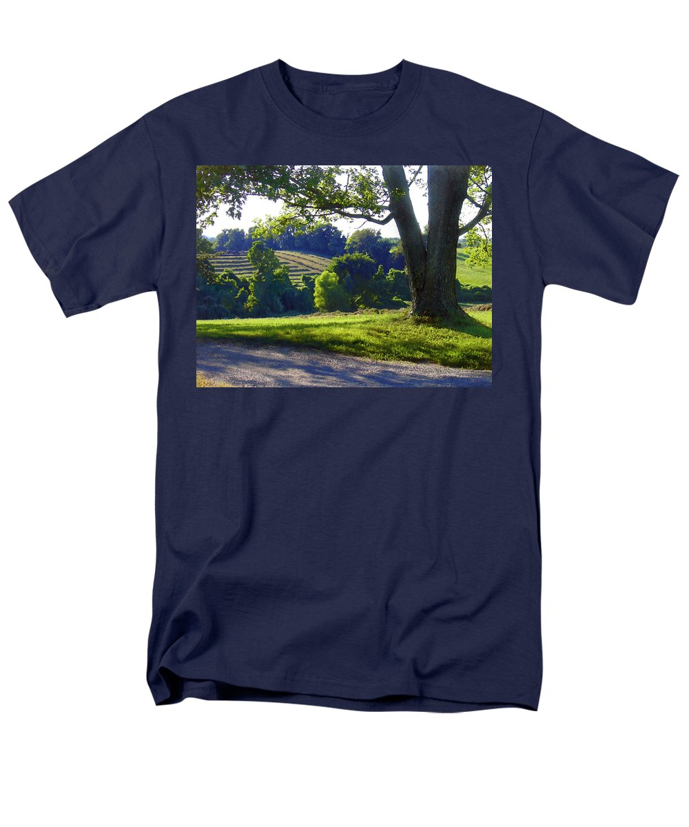 Landscape Men's T-Shirt (Regular Fit) featuring the photograph Country Landscape by Steve Karol
