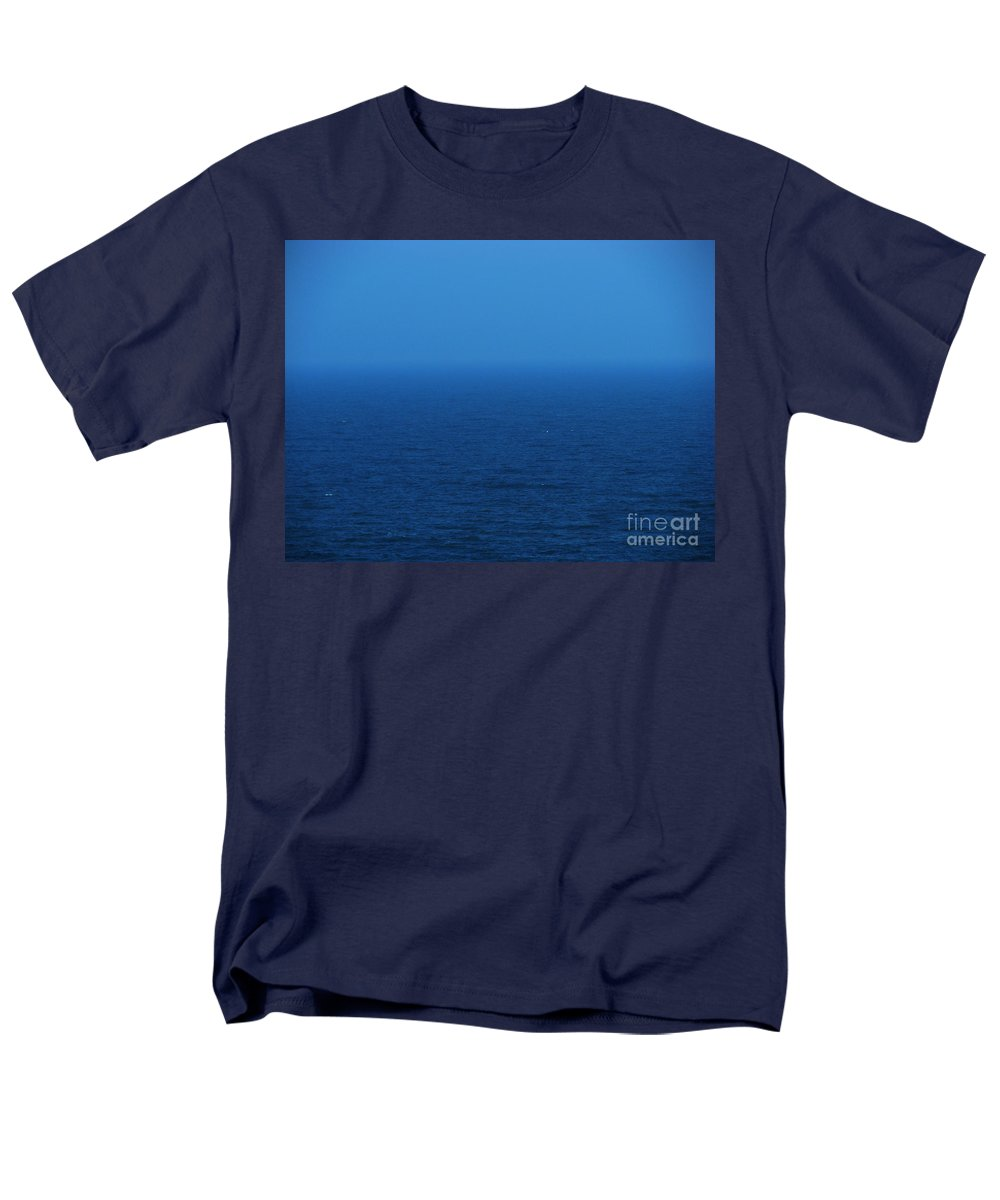 Blue Men's T-Shirt (Regular Fit) featuring the photograph Stepping into a dream by Amanda Barcon