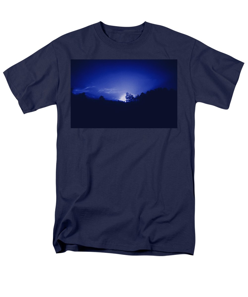 Sky Men's T-Shirt (Regular Fit) featuring the photograph Where the Smurfs Live 2 by Max Mullins