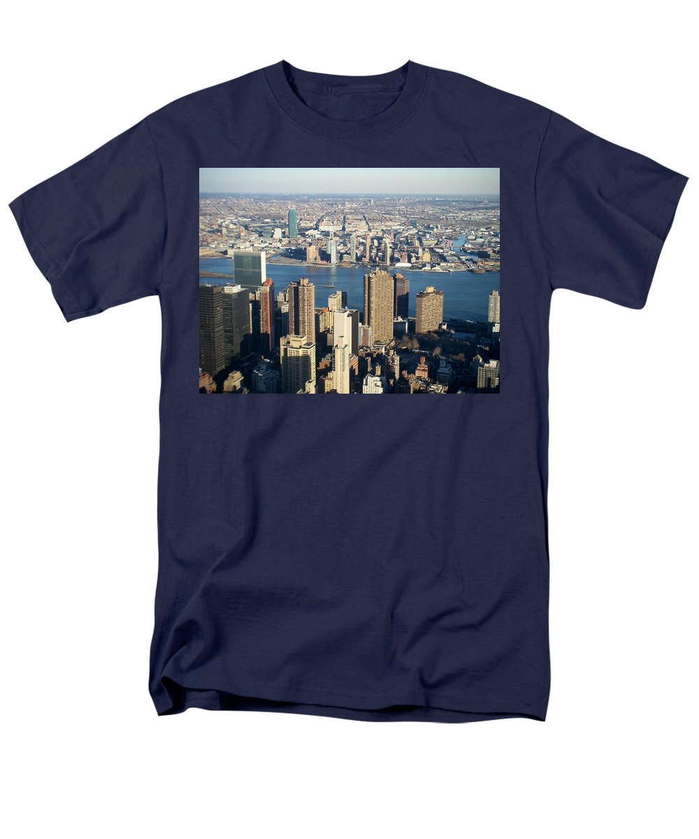 Nyc Men's T-Shirt (Regular Fit) featuring the photograph Nyc 6 by Anita Burgermeister
