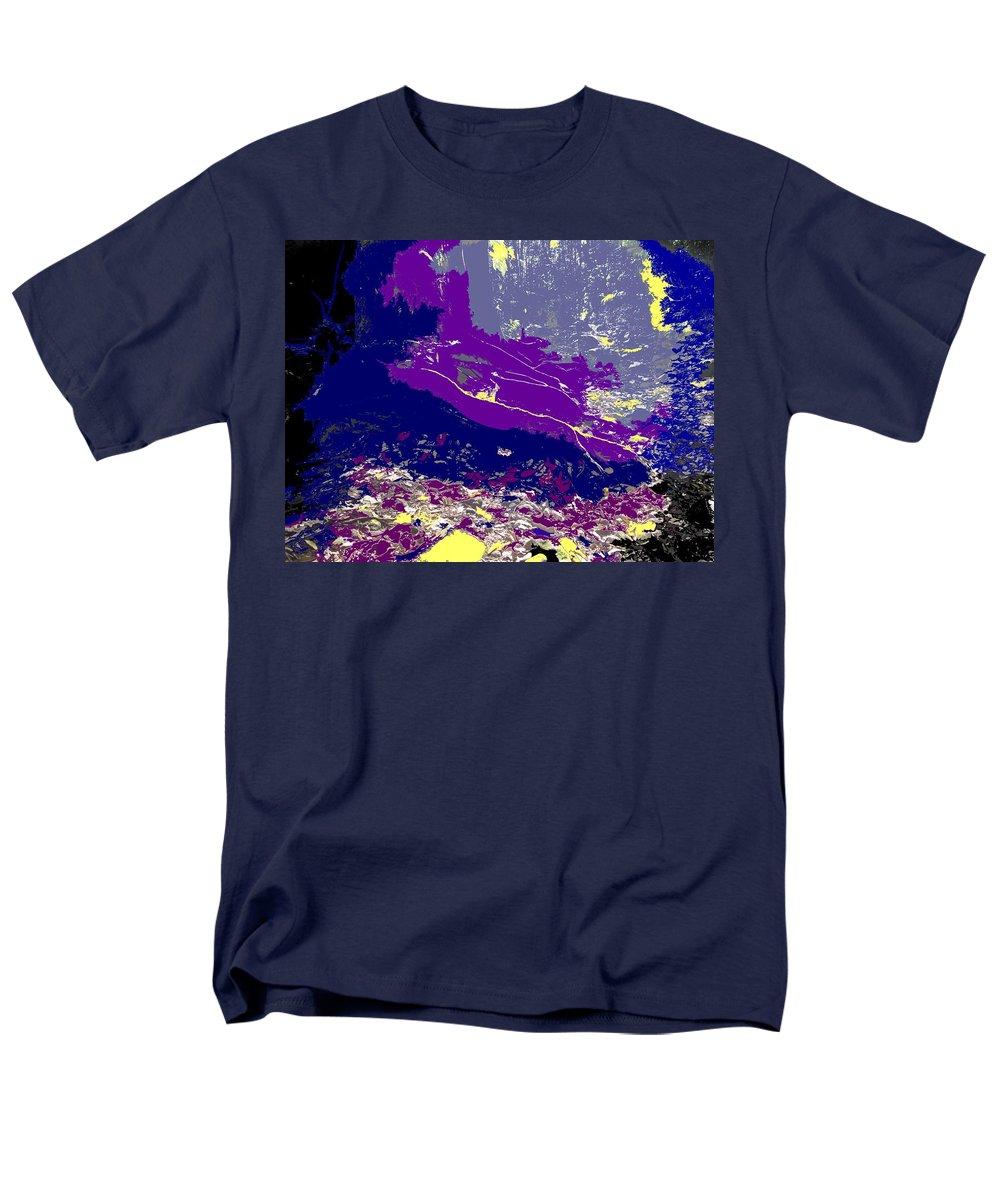 Rainforest Men's T-Shirt (Regular Fit) featuring the photograph Rainforest Shadows by Ian MacDonald