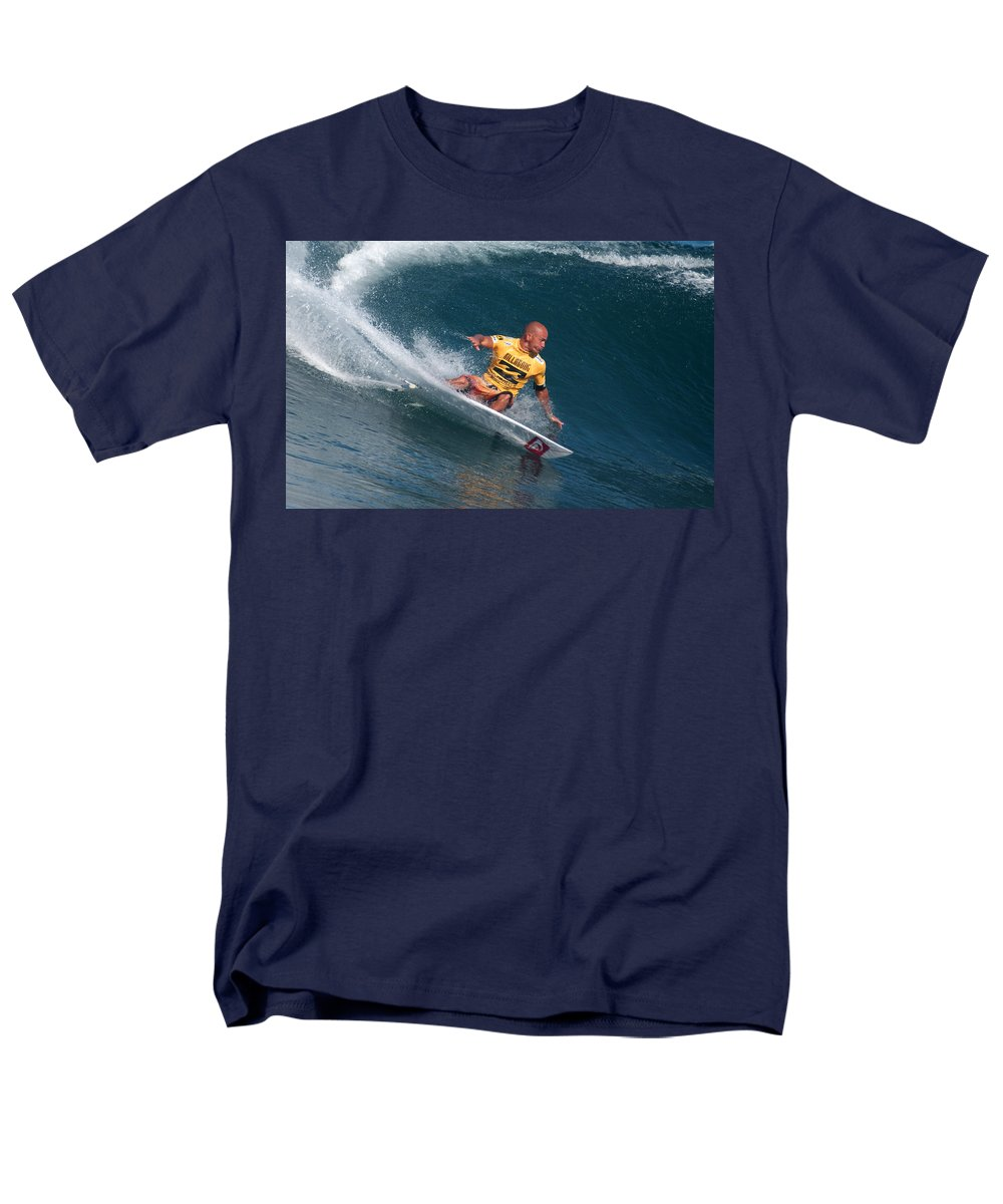Kelly Slater Men's T-Shirt (Regular Fit) featuring the photograph Smooth Operator by Kevin Smith