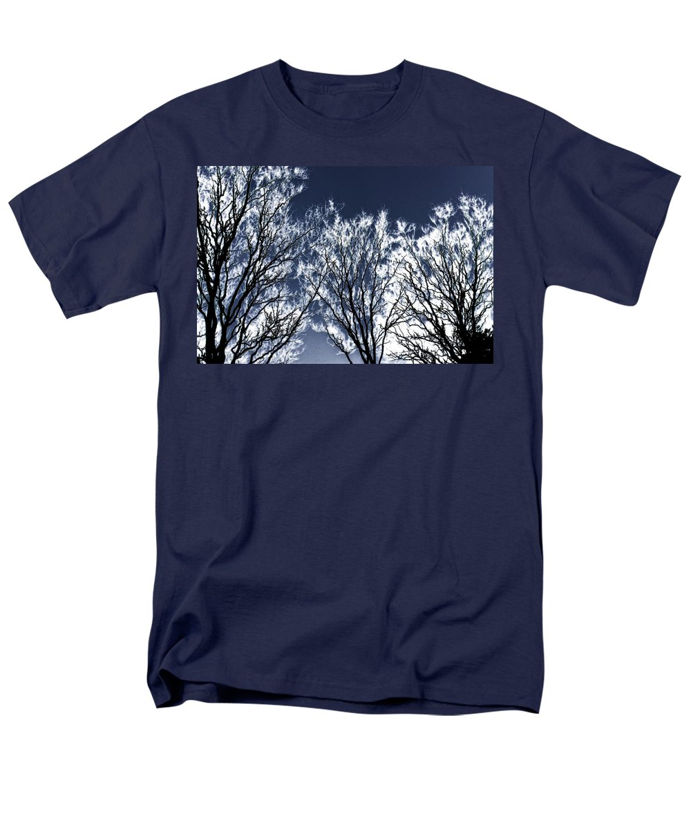 Scenic Men's T-Shirt (Regular Fit) featuring the photograph Tree Fantasy 2 by Lee Santa