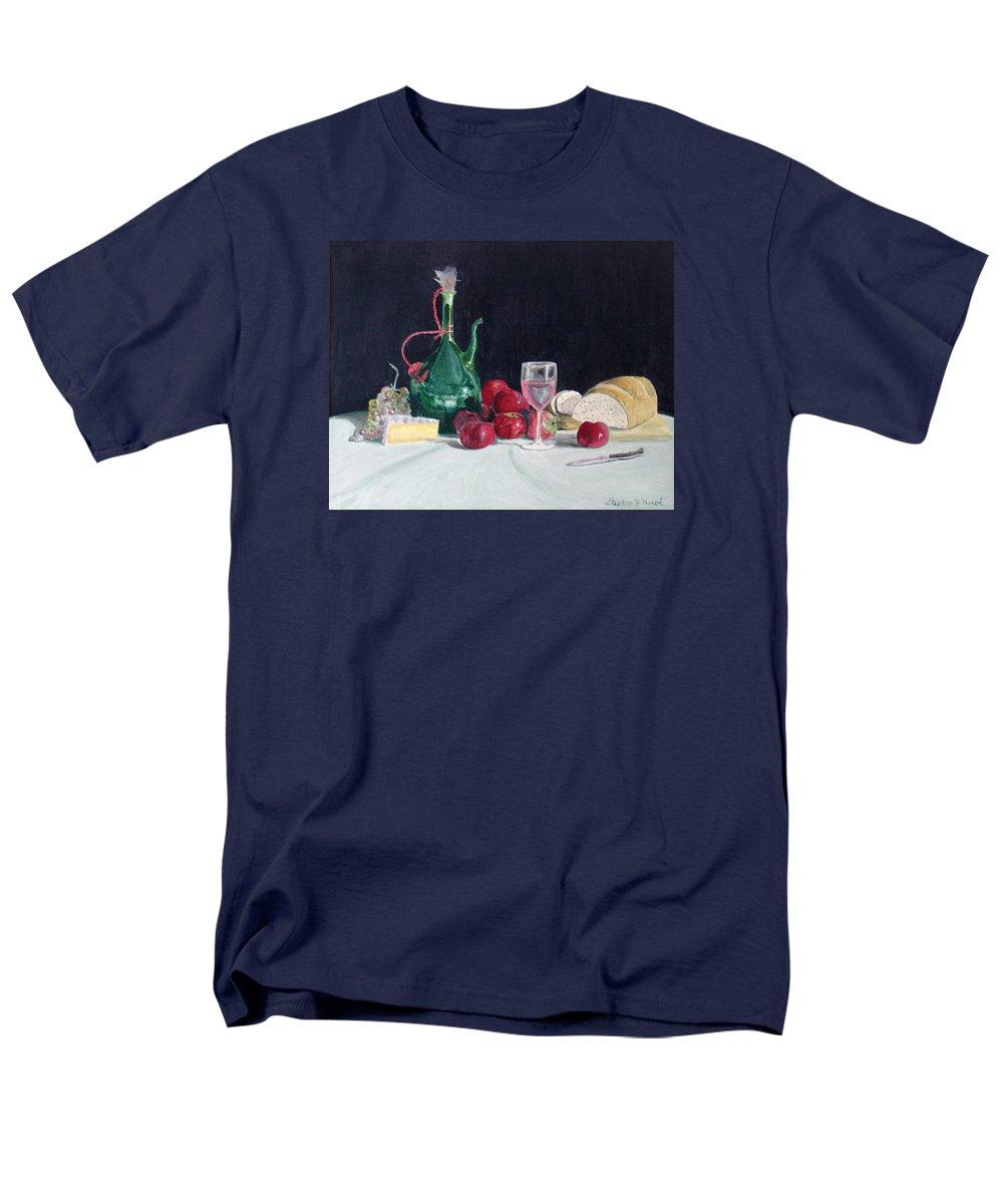 Still Life Men's T-Shirt (Regular Fit) featuring the painting Still life by Steve Karol