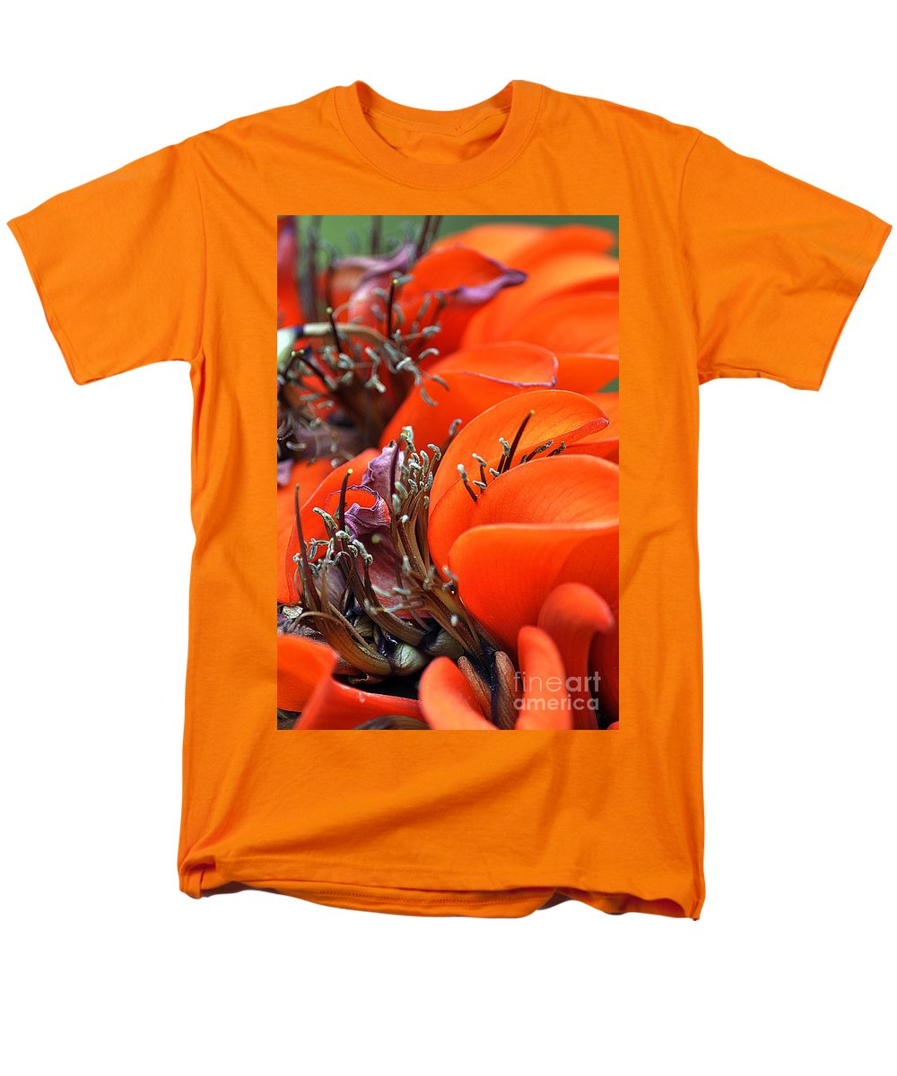 Clay Men's T-Shirt (Regular Fit) featuring the photograph Orange by Clayton Bruster